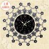 Reloj de pared caliente del metal del movimiento del reloj de cuarzo de la alta calidad de la venta