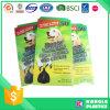 Bolso biodegradable de la basura del animal doméstico del HDPE con el lazo de la maneta