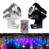 10W IP68 LED 수중 빛 3000k 6500k RGB 수영풀 연못 램프