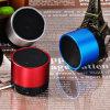 Haut-parleur sans fil en métal de Bluetooth avec la carte et l'auxine de TF de soutien de bruit de qualité