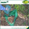 Onlylifeオックスフォードの三角形の庭袋の草の熊手のごみ袋
