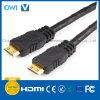 Stop HDMI 19pin aan de MiniKabel van de Stop HDMI voor HDTV/4K/3D/Internet