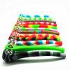O FDA macio Unbreakable BPA livra a tubulação de fumo longa de borracha portátil da mão do tabaco de Weed da erva do silicone
