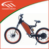 Aluの合金、ブラシレスの、後部モーター48V 1500W電気バイク