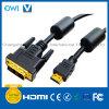 Cavo di Digitahi della spina della Spina-DVI di HDMI 19pin