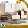 Armoire en bois moderne de verre aluminium / bureau de poste de travail Partition (UL-NM104)