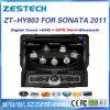 HD 8 ヒュンダイのソナタのための車のDVDプレイヤーヘッド単位GPS