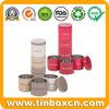 El almacenaje determinado del alimento del metal del azúcar del té del café estaña cajas de la cocina