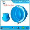 Tampão plástico da lavanderia da alta qualidade do supermercado de Dehuan com anel branco