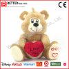Teddybeer van de Dieren van de Dag van de valentijnskaart de Zachte