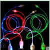 Пропуская светлый кабель заряжателя USB СИД (CB-188)