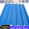 Colorir a chapa de aço corrugada de telhado de telha do zinco T a folha de alumínio