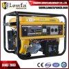 Reiner kupferner Ring 15HP 7.5 KVA-Benzin-Generator (elektrischer Anfang mit Batterie)