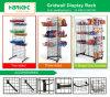 Soporte de visualización de la tienda de comestibles de Gridwall del metal