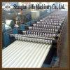 Metal Hidráulico do PLC da Estaca Corrugou o Rolo da Folha da Telhadura Que Dá Forma à Máquina