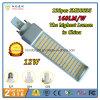 2016 o melhor G-24 de venda da lâmpada 12W do diodo emissor de luz do Pl da alta qualidade com saída 160lm/W e 3 anos de garantia