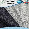 La stirata respirabile di comodità non inclinava Terry che lavora a maglia il tessuto lavorato a maglia del denim per i jeans