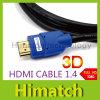 Câble HDMI vers HDMI Câble Vidéo Audio version 1.4 de l'or 1080P