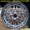 roda da liga de alumínio do carro da roda do cromo 17inch auto