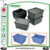 Caixa de empacotamento de plástico e caixa de revenda