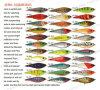 Pêche de l'attrait, palan de pêche, attrait en plastique--Secousse (HRL009)