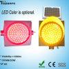 Luz psta solar piscar do amarelo do diodo emissor de luz