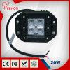 Luz de conducción excelente de Quanlity 3inch 20W LED para el vehículo de la granja
