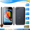4.3inch Mtk6582 Quad Core 1g+4G 3G 960X540 Smart Phone (K458)