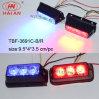 B/R LED 스트로브 자동차 외부 점화 번호판 Lighthead (TBF-3691C-B/R)