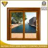 Раздвижная дверь Tempered стекла типа жилого дома алюминиевая двойная