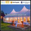 Hohe transparente Festzelt-Partei Spitzen-Nigeria-Afrika, die schöne Festzelt-Hochzeit kundenspezifisches Ereignis-Zelt Wedding ist