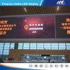 A placa do sinal do diodo emissor de luz da estação de comboio