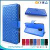 Аргументы за Avvio 489 роскошного вспомогательного оборудования телефона типа бумажника Bling кожаный