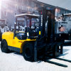 10t de Dieselmotor van China Isuzu met De Vorkheftruck van het Ce- Certificaat