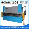 Máquina de dobra hidráulica da placa do Numérico-Controle Wc67k-40t/2200