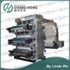 En 6 colores de alta velocidad de máquina de impresión Flexo