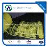 Rete fissa di plastica gialla, barriera di sicurezza