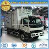 Camion di trasporto dell'alimento fresco delle rotelle di Isuzu 4X2 6 8 tonnellate di camion refrigerato