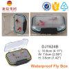 Прозрачная пластичная двойная бортовая коробка мухы удя