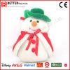 Gift van Kerstmis vulde de Zachte Sneeuwman van de Pluche van het Stuk speelgoed voor Jonge geitjes