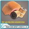 PBT fusión-soplado Ecológico elástico tela no tejida para el filtro automático
