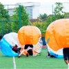 Bola del golpeador, balón de parachoques de fútbol, balompié de Zorb de la burbuja