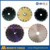 Het kleurrijke Blad van de Zaag van het Hulpmiddel van de Diamant voor Steen/Graniet/Marmer