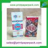 Bolso de regalo de papel Bolsa de papel dulce de la tienda del caramelo de la tienda Bolso de papel de Kraft de la parte posterior del emparedado de la fruta
