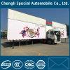 Camion extérieur de plate-forme de danse de chariot flexible portatif de spectacle de tournée