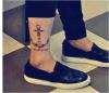 Etiquetas engomadas temporales impermeables del tatuaje de la carrocería de moda
