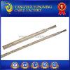 Fio de alta tensão de alta temperatura da fibra de vidro de mica de UL5334 300V 450c