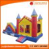 Aufblasbares Spielzeug-aufblasbares springendes federnd Schloss mit Plättchen (T3-208)