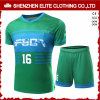 Le football vert fait sur commande dernier cri Jersey (ELTSJI-4) de mode