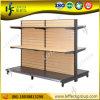 Hot Sale에 있는 주문을 받아서 만들어진 Double Side Wood Slatwall Display Stand